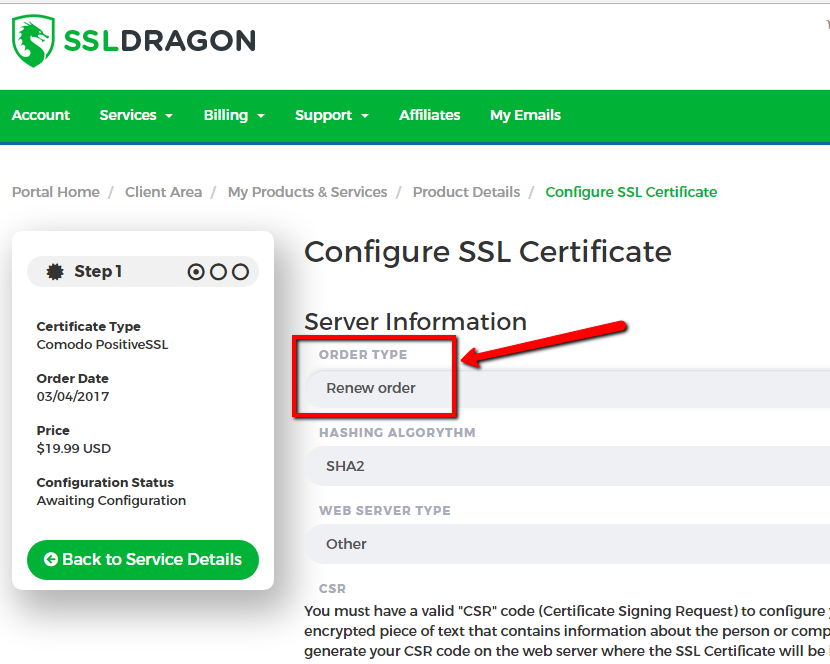 Faq Ssl Dragon